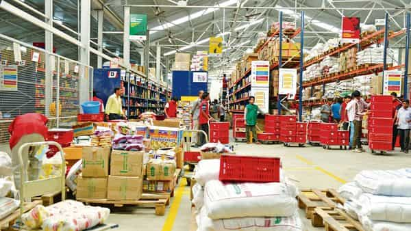 BigBasket operates in more than 30 cities, offering a grocery assortment of more than 50,000 stock keeping units with over 15 mn customer orders each month.mint
