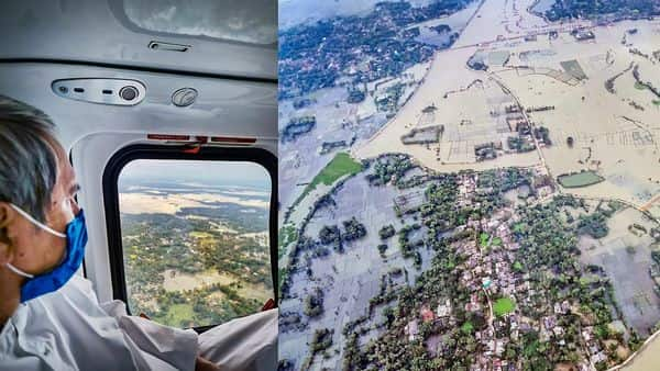 Odisha has passed a resolution to deal with future disasters. This comes just days after Cyclone Yaas hit the state. Chief Minister Naveen Patnaik takes an aerial survey of cyclone affected areas. (PTI)