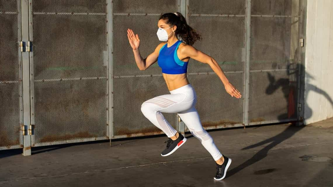 Running enthusiasts have found innovative ways to carry on doing what they love.