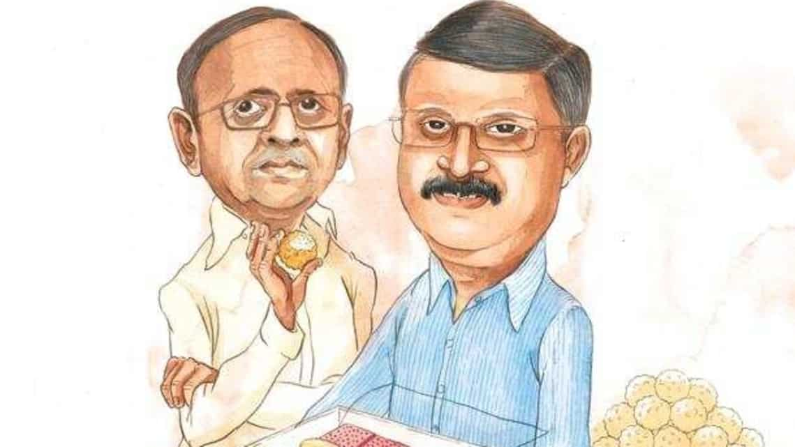 Brothers Madhav and Shrikrishna Chitale