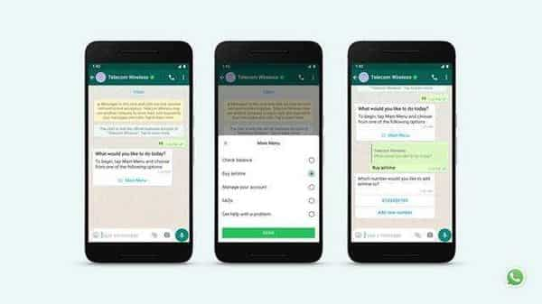 WhatsApp is also rolling out new messaging features that can help people get business done faster