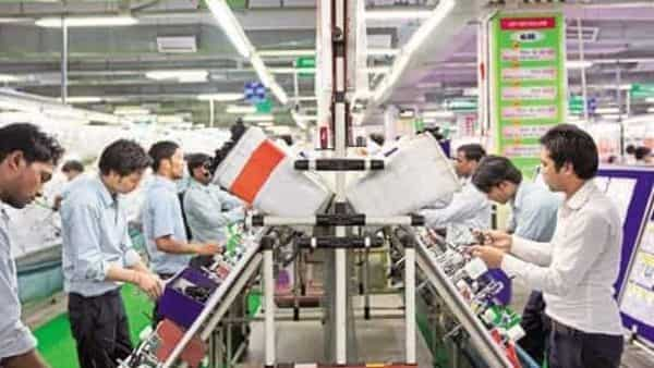 A file photo of Motherson Sumi Systems wiring harness plant in Faridabad. Photo: Bloomberg