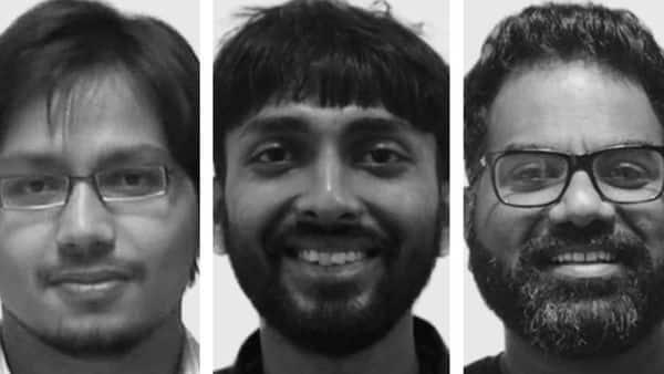 From left: Sandeep Nailwal, Jaynti Kanani and Anurag Arjun co-founded blockchain scalability platform Polygon in 2017.