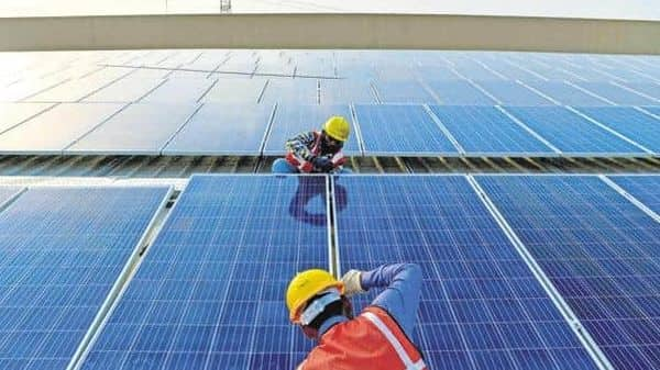 Acme Solar is the last entirely promoter-owned large green energy platform in India and of its portfolio of 5 GW, 2.3 GW is operational. Photo: AFP
