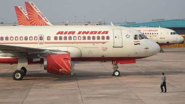 The disinvestment process of Air India got delayed due to the second wave of the Covid-19 pandemic, Union Civil Aviation Minister Hardeep Singh Puri said (AFP)