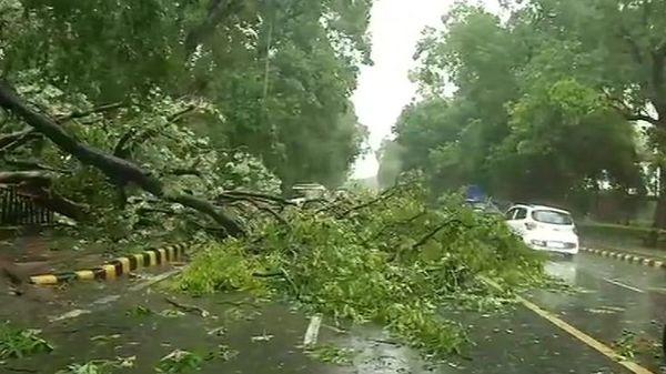 Heavy rain hammered Delhi on June 4