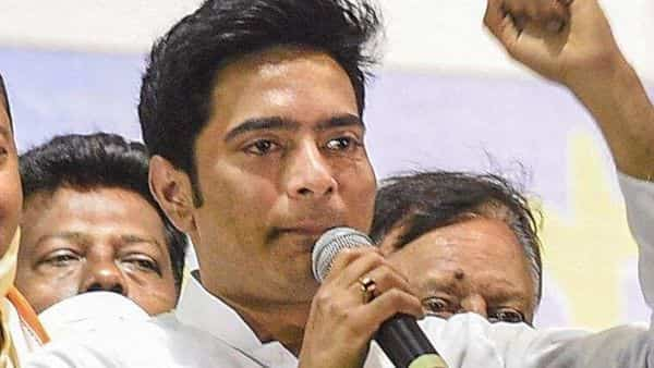 Abhishek Banerjee, the nephew of Mamata Banerjee, was appointed as the party's all India general secretary during party reshuffle (HT_PRINT)