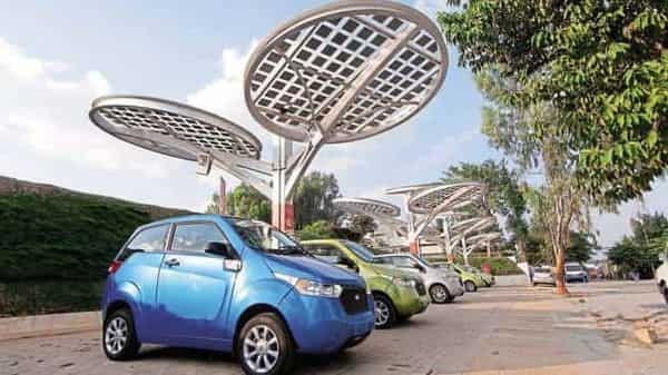 EESL has been procuring electric vehicles from manufacturers like Tata Motors Ltd, Mahindra and Mahindra Ltd and others, and supplying them to different ministries and public sector units  (Aniruddha Chowdhury/Mint)