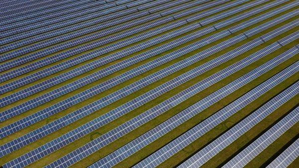 FILE PHOTO: A field of solar panels. Representative image (REUTERS)