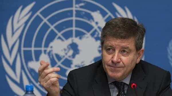 A file photo of Guy Ryder, director general of International Labour Organization (Photo: AP)