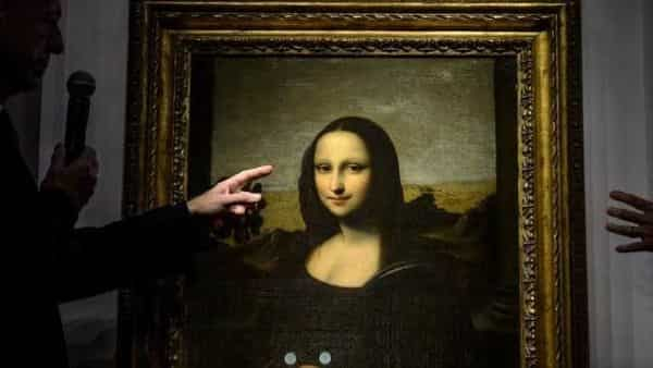 A replica of the Mona Lisa (Photo: AFP)