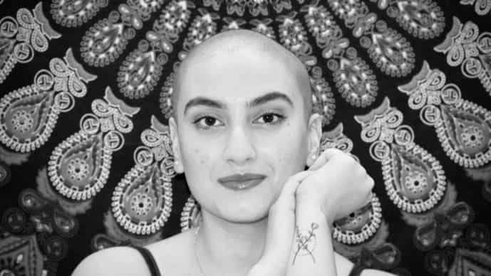 Shaving my head was an act of self-help. It's a major work in progress but it's taught me to put myself out there.