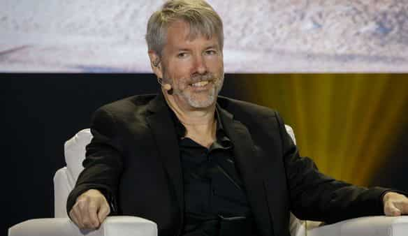 MicroStrategy co-founder and Chief Executive Michael Saylor. (Bloomberg)