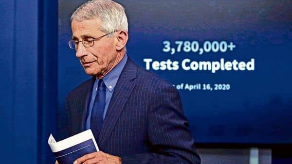Anthony Fauci's emails have stirred a buzz in the US over what he knew (Photo: AP)