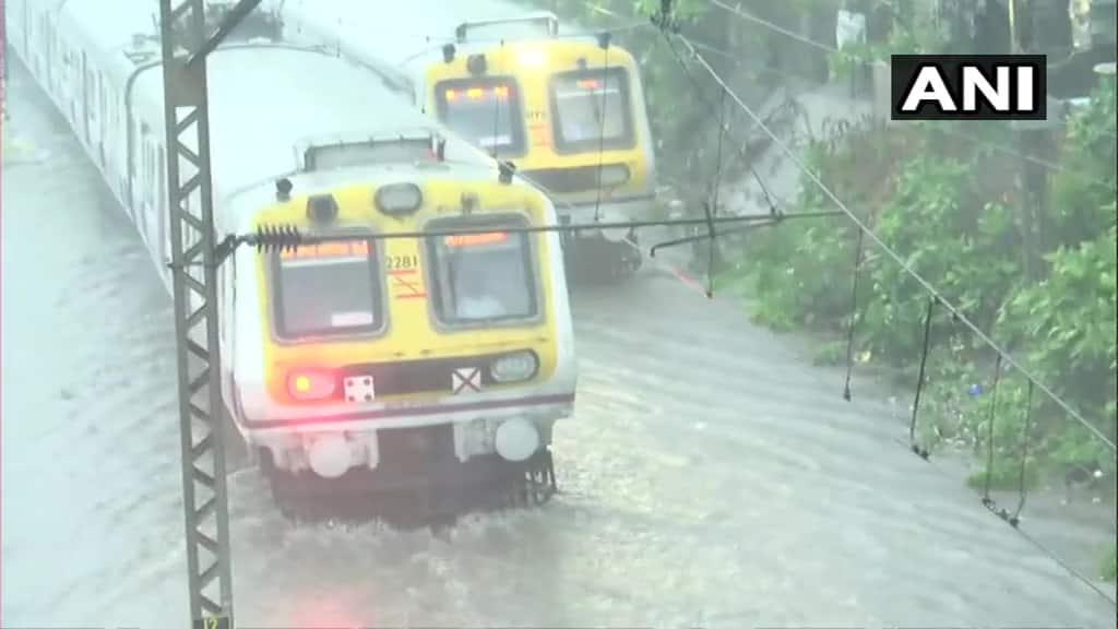 Trains on submerged tracks