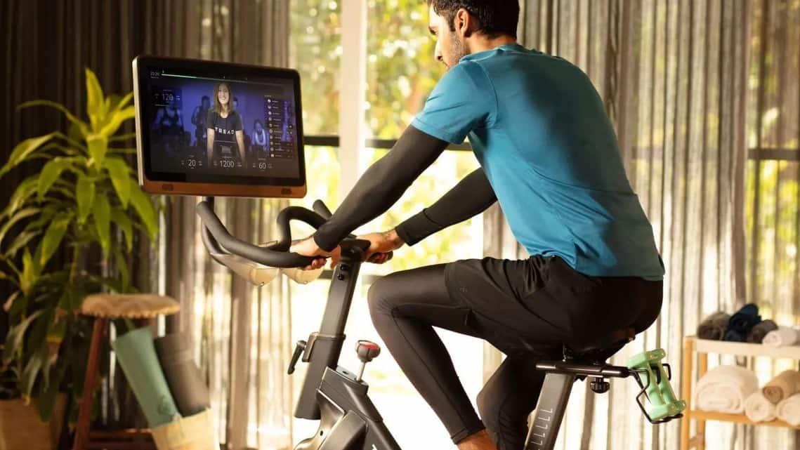 The Tread One fitness bike.