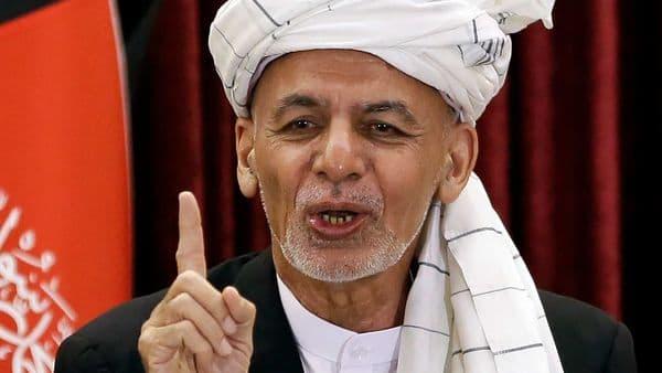 Afghanistan's President Ashraf Ghani. (AP)