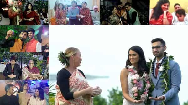 With the pandemic likely to keep people indoors in the foreseeable future this is the new avatar of the big fat Indian wedding – the not-so-big, hybrid, Indian wedding.