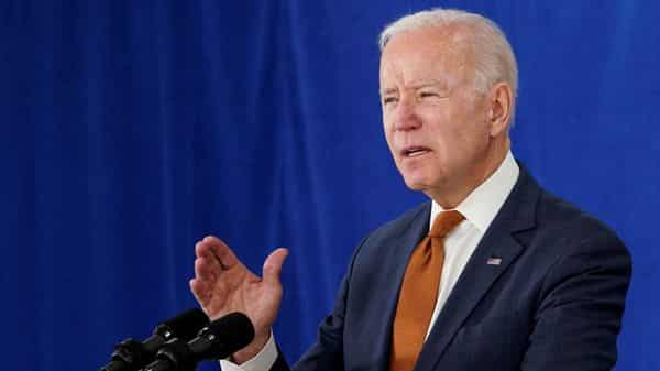 FILE PHOTO: U.S. President Joe Biden delivers remarks on the May jobs report after U.S. employers boosted hiring amid the easing coronavirus disease  (REUTERS)