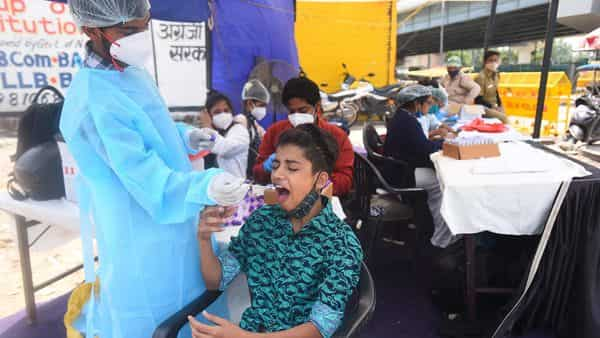 Covid in India: In a sero survey, blood samples are tested for the presence of IgG (Immunoglobulin G) antibodies that determine a past infection due to coronavirus (Raj K Raj / HT Photo)