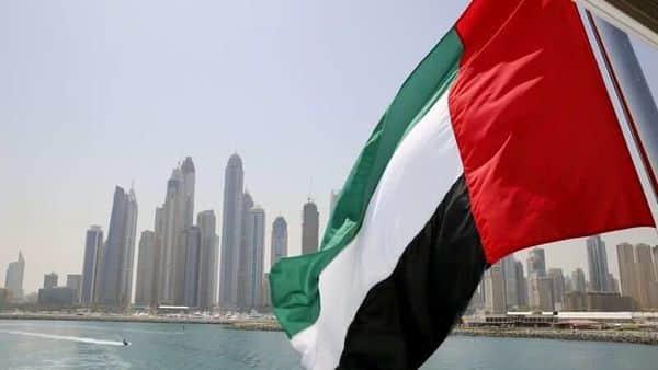 FILE PHOTO: UAE flag flies over a boat at Dubai Marina, Dubai, United Arab Emirates. (REUTERS)