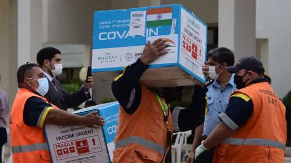 Covaxin vaccine by Bharat Biotech  (AFP)