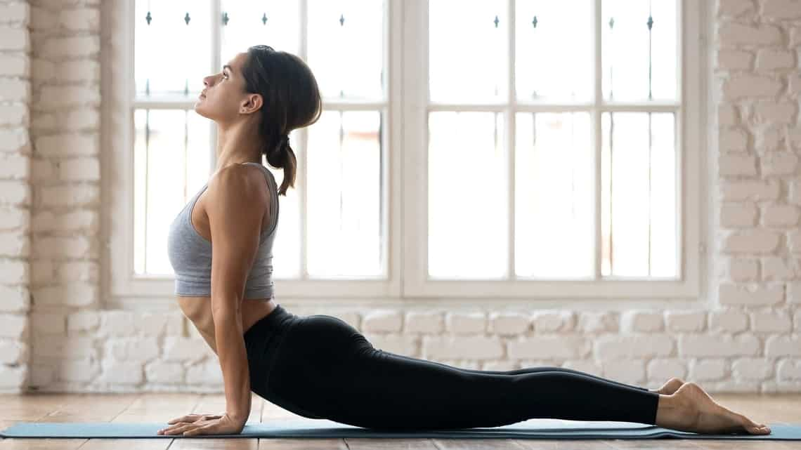 Yoga practice in tandem with weight training can work wonders.