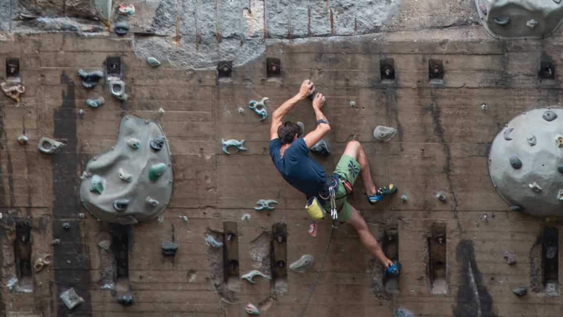 Climbing is a fun sport that also doubles up as an excellent workout.
