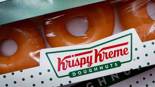 File Photo: Doughnuts are sold at a Krispy Kreme store in Chicago, Illinois.  (AFP)