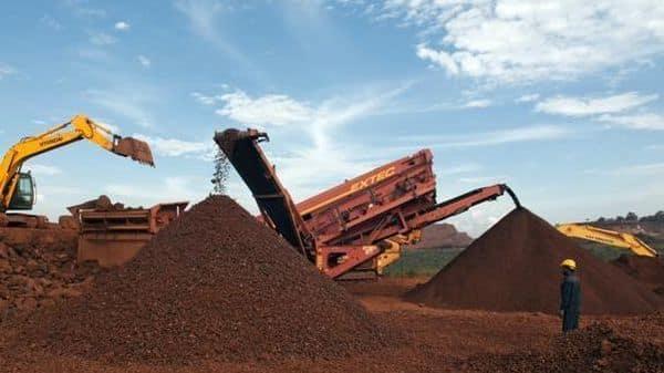 File photo: The NMDC mines in Donimalai.