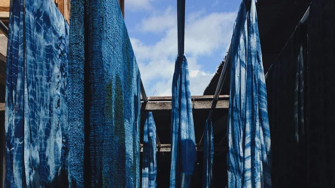 Dyeing fabric has always been a messy process, even when the colours came from plants and animals rather than chemical factories.