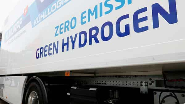 Green hydrogen gas is produced by splitting water into hydrogen and oxygen using an electrolyzer that may be powered by electricity generated from renewable energy sources. FILE PHOTO REUTERS