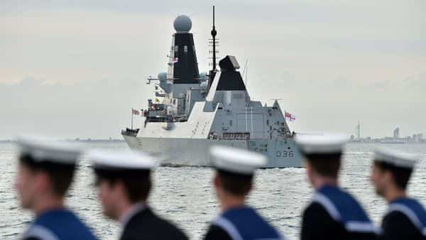 Russia said it fired warning shots at a British Navy destroyer in the Black Sea after it violated the country's territorial waters, while the UK denied it. (AFP)