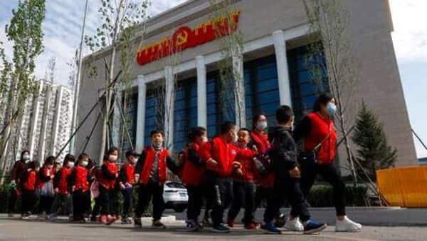 Chinese children in Beijing. (AP)