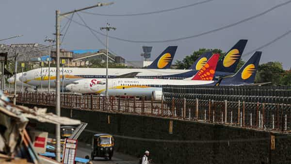 Financial distress forced Jet Airways, which flew for more than two decades, to suspend operations on April 17, 2019 (Bloomberg)