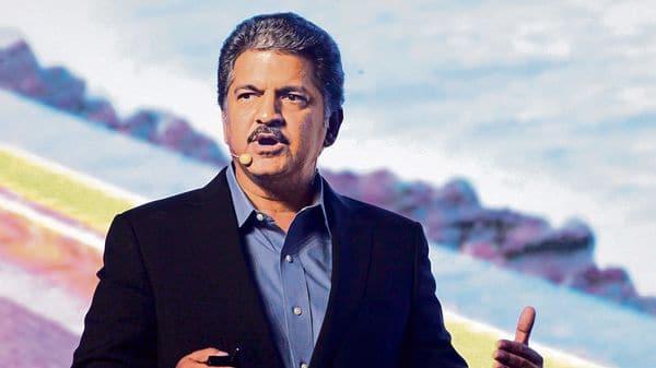 Industrialist Anand Mahindra  (HT)