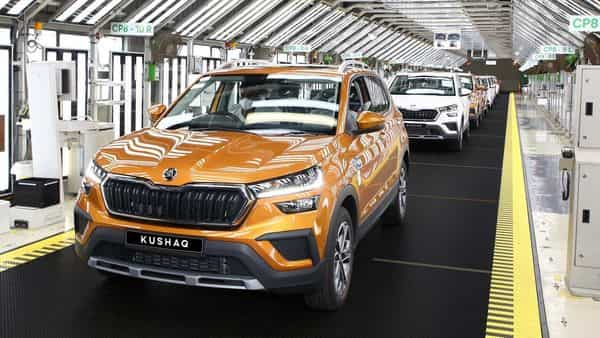 The new SUV will be available in five colours including Carbon Steel, Reflex Silver, Candy White, Tornado Red and Honey Orange (pictured above).