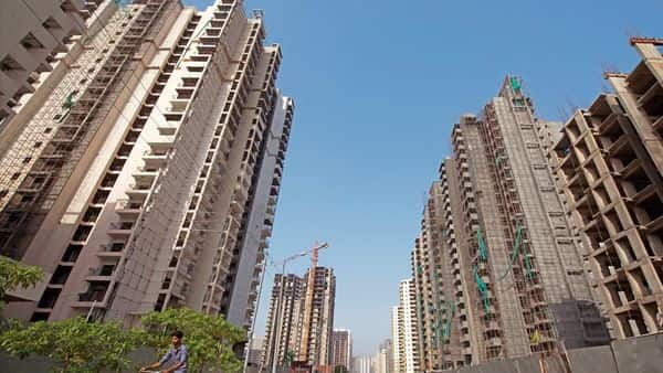 Maharashtra Housing Minister Jitendra Awhad announced waiver of  ₹400 crore interest on unpaid service charges by the flat owners in Maharashtra Housing and Area Development Authority (MHADA) colonies in Mumbai. (Ppradeep Gaur/mint)
