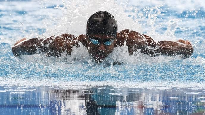 Sajan Prakash became the first Indian swimmer to gain automatic qualification for the Olympics.