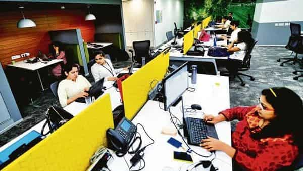 While the total pay decreased for 40 per cent respondents, a temporary reduction in fixed pay was experienced only by 16 per cent of employees (Photo: Mint)