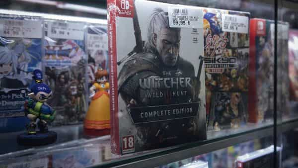The Witcher Android and iOS AR game was announced in August last year.  (Bloomberg)