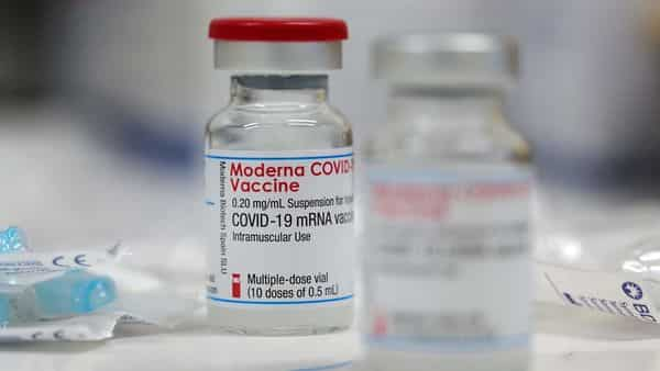 FILE PHOTO: A vial of the Moderna COVID-19 vaccine is seen. (REUTERS)