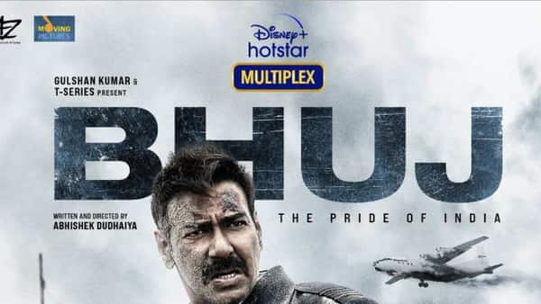 Bhuj: The Pride of India also features Sanjay Dutt, Sonakshi Sinha, Nora Fatehi, Sharad Kelkar and Ammy Virk. (Photo: Twitter @BhujTheFilm)