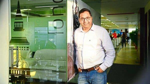 CEO Vijay Shekhar Sharma holds 14.61% of Paytm parent One97 Communications Ltd 's total paid-up equity capital.