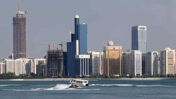 A general view of the Abu Dhabi skyline is seen. FILE PHOTO (REUTERS)