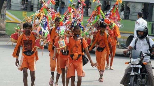 Kanwar yatra to start with the onset of the month of Shravan around July 25 (HT_PRINT)