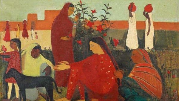 The work fetched  ₹37.8 crore at a Saffronart auction in Mumbai, making this the highest-ever price achieved by the artist in an auction.