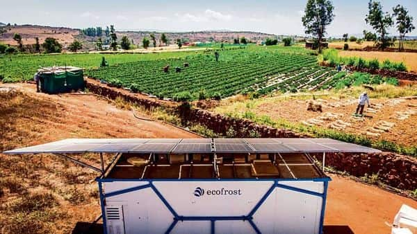 Ecozen, a Pune-based startup, provides solar-powered cooling and market linkage services to growers of perishables.