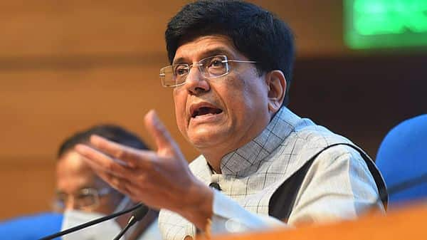 Commerce and industry minister Piyush Goyal. (Hindustan Times)