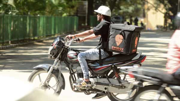 Swiggy has diversified its bets through its pick-up and drop service, Swiggy Genie and entered into the e-grocery delivery segment with its Instamart offering. (MINT_PRINT)